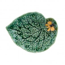BEGONIA LEAF WITH BUTTERFLY 20CM