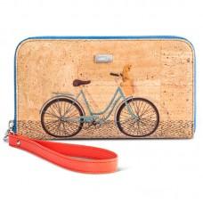 CORK WALLET - BICYCLE