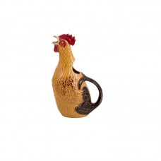 CERAMIC PITCHER IN SHAPE OF ROOSTER