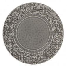 PLATE - 33 CM, ANTHRACITE