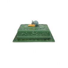CHEESE DISH, GREEN - MOUSE