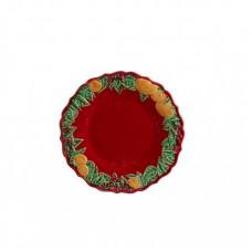 DESSERT PLATE - 22 CM, RED