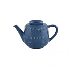 TEA POT, DARK BLUE
