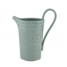 PITCHER, MORNING BLUE