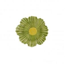 DESSERT PLATE - 23 CM, COSMOS, GREEN