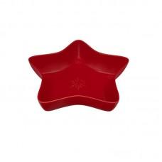 STAR BOWL - 35 CM, RED