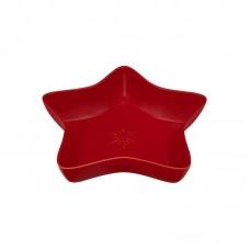 STAR BOWL - 45 CM, RED