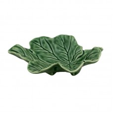 PLATE IN LEAF SHAPE - 120 MM, CABBAGE