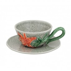 TEA CUP AND SAUCER, LILY