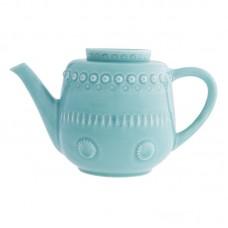 TEA POT, AQUA GREEN